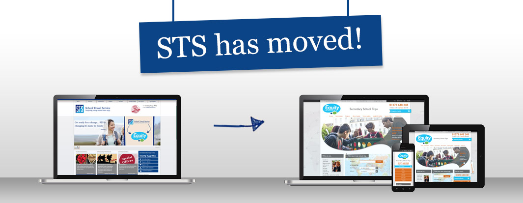 STS has moved!